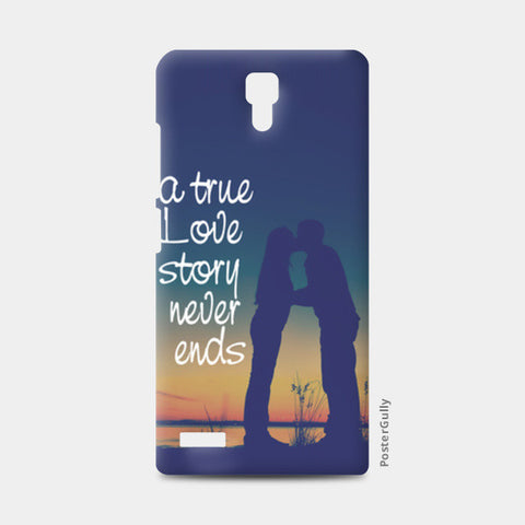 A True Love Story Redmi Note Cases | Artist : Abhishek Bhardwaj