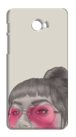 Betty With The Glasses Xiaomi Mi Note 2 Cases | Artist : Anniez Artwork