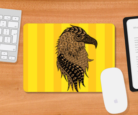 Albert the Eagle Mousepad | Artist : Animal kingdom