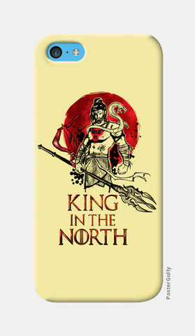 Shiva-king in the north iPhone 5c Cases | Artist : Abhishek Faujdar