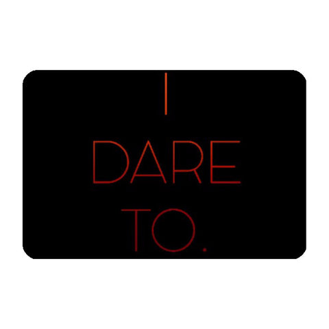 Laptop Skins, I Dare To Laptop Skin | Artist: Sukhmani Kaur, - PosterGully