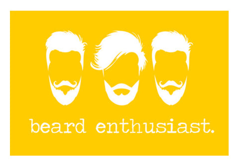 Wall Art, Beard Enthusiast Wall Art  | Artist : Ginita Sahni, - PosterGully