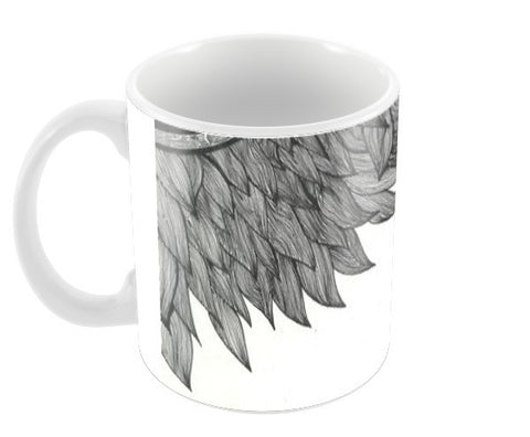 Tribal Doodle monochrome Coffee Mugs | Artist : Raj Patel