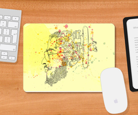 Mousepad, in my brain Mousepad | Artist : harsimran_sain, - PosterGully
