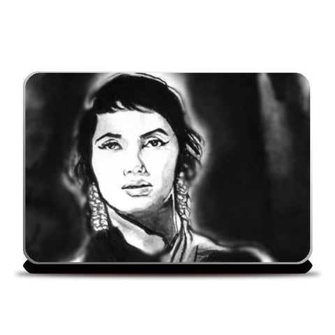 Laptop Skins, Classic Sadhna Tribute Laptop Skins | Artist : Draw On Demand, - PosterGully