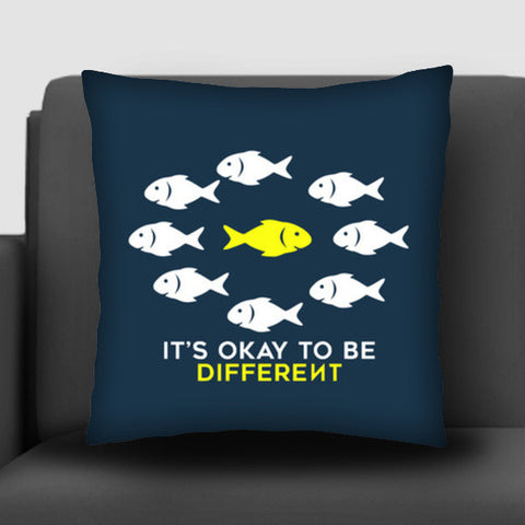 It's OK to be different Cushion Covers | Artist : Kaushal Faujdar