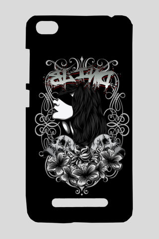 Women With Tattoo Flower Redmi 4A Cases | Artist : Inderpreet Singh