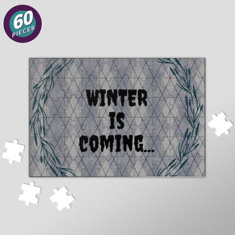 WINTER IS COMING Jigsaw Puzzles | Artist : Pallavi Rawal
