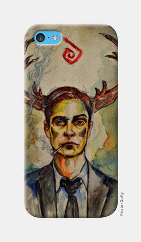 iPhone 5c Cases, True Detective: Rustin Cohle iPhone 5c Case | Artist: Prajwal Acharya, - PosterGully