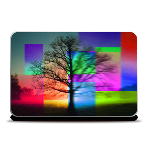 Gesture of Nature Laptop Skins | Artist : Tiny Dots