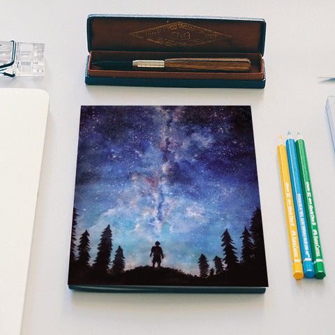 A quiet darkness Notebook | Artist : Sukanya Chakraborty