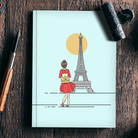 Adventure Calling Notebook | Artist : Arpita Gogoi