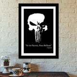 The Punisher Premium Italian Wooden Frames | Artist : Lobo