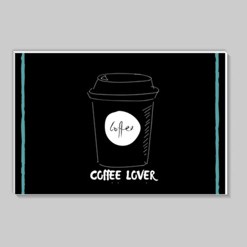 Coffee Lover Stick Ons | Artist : Pallavi Rawal