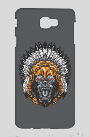 Gorilla Wearing Aztec Headdress Samsung On Nxt Cases | Artist : Inderpreet Singh