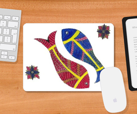 Mousepad, Fish Mousepad I Gayatri Iyer, - PosterGully