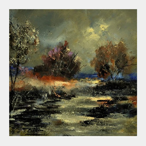 marsh 563110 Square Art Prints | Artist : pol ledent