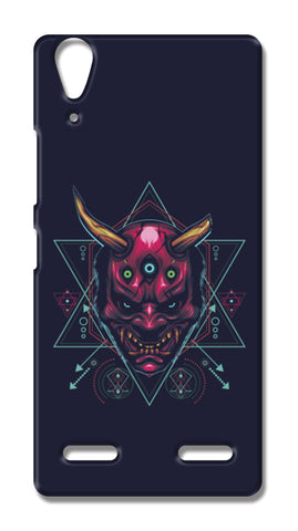 The Mask Lenovo A6000 Cases | Artist : Inderpreet Singh