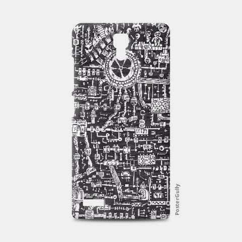 Redmi Note Cases, Mechanical Doodle Redmi Note Cases | Artist : Shireen Gadru, - PosterGully