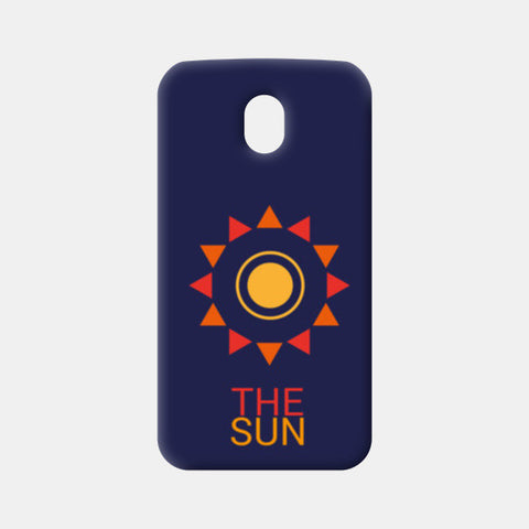 The sun Moto G3 Cases | Artist : Akash Gutha