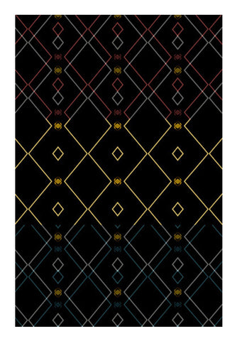 Pattern design in black Wall Art | Artist : Amar Singha