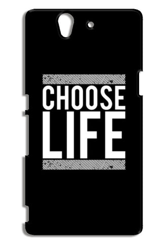 Choose Life Sony Xperia Z Cases | Artist : Designerchennai