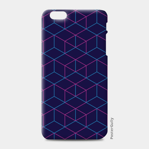 iPhone 6 Plus / 6s Plus Cases, Isometric Pattern iPhone 6 Plus / 6s Plus Cases | Artist : Jobin Jacob, - PosterGully