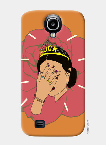 BROWN GIRL Samsung S4 Cases | Artist : Jignesh Waghela