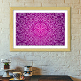Abstract Flowers Premium Italian Wooden Frames | Artist : Madhumita Mukherjee