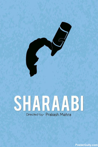 Wall Art, Sharaabi Artwork | Artist: Rohit Kumar, - PosterGully - 1
