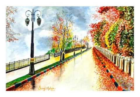 PosterGully Specials, Landscape Wall Art  | Artist : Saroj Meher, - PosterGully
