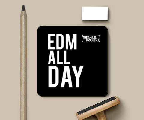 Coasters, EDM All Day Coasters | Artist : Thermal Projekt, - PosterGully