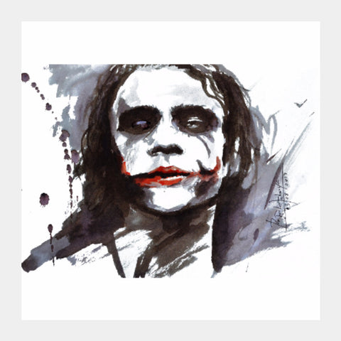 Square Art Prints, Joker Ink Square art | Artist: Prajwal Acharya, - PosterGully