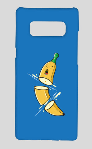 Sliced Banana Samsung Galaxy Note 8 Cases | Artist : Inderpreet Singh