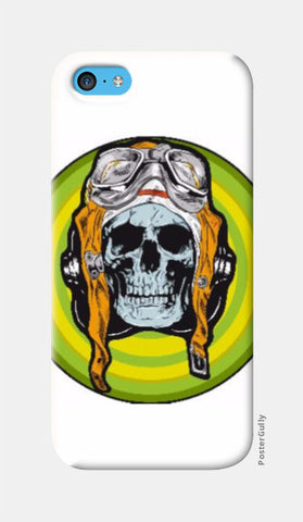 iPhone 5c Cases, Pilot Skull iPhone 5c Case | Md Hafiz Shaikh, - PosterGully
