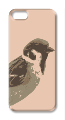 Abstract Sparrow iPhone SE Cases | Artist : Keshava Shukla