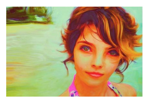 Wall Art, Camren Bicondova Wall Art  | Artist : Divakar Singh, - PosterGully