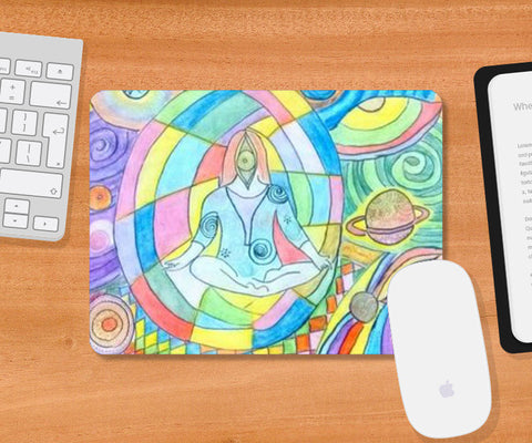 Mousepad, Astral world mouse pad Mousepad | Artist : Himani Chhabra, - PosterGully