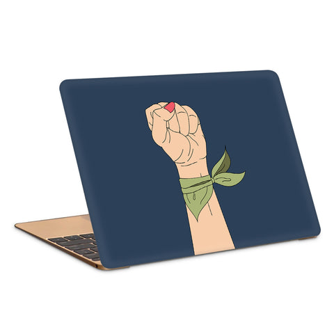 Woman Strenght Minimal Artwork Laptop Skin