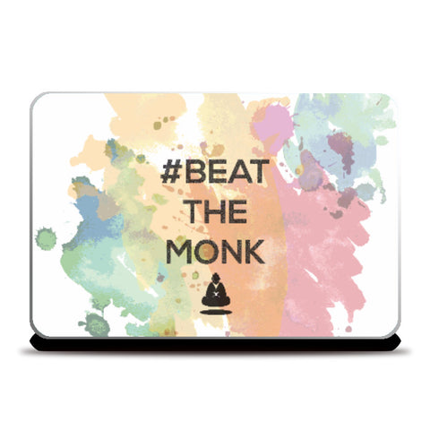 Laptop Skins, #BeattheMonk 2 Laptop Skin | Artist : GamingMonk, - PosterGully