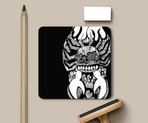 Coasters, Zodiac series_Cancer Coaster | Artist: Sketch MyPages, - PosterGully