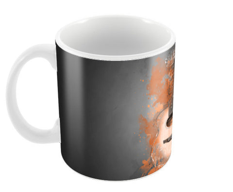 Guitar Splash – Orange Coffee Mugs | Artist : Darshan Gajara's Artwork