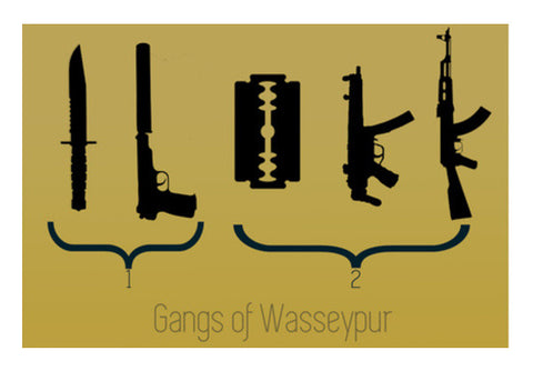 Gangs Of Wasseypur Wall Art  | Artist : Rishabh Tripathi