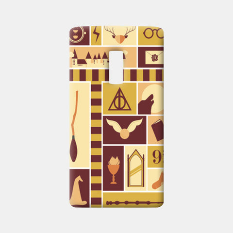 One Plus Two Cases, Harry Potter One Plus Two Cases | Artist : Arpita Gogoi, - PosterGully