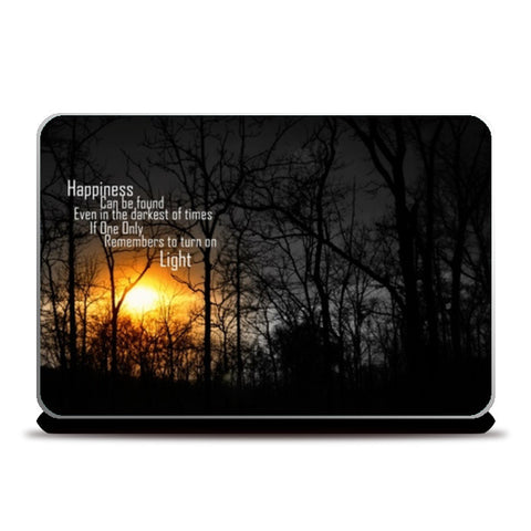 Laptop Skins, Happiness Dumbledore Laptop Skins | Artist : Syamantak Dubey, - PosterGully