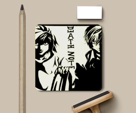 Coasters, Death Note Coaster | Artist: Aastha, - PosterGully