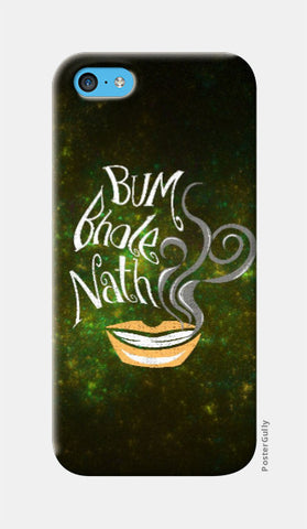 iPhone 5c Cases, Bum Bhole Nath iPhone 5c Case | Artist: Abhishek Faujdar, - PosterGully