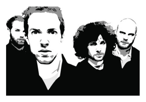 COLDPLAY Wall Art  | Artist : Kau.Vish