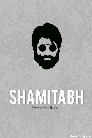 Wall Art, Shamitabh Artwork | Artist: Rohit Kumar, - PosterGully - 1