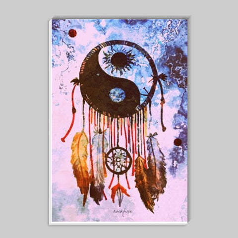 YinYang DreamCatcher Stick Ons | Artist : Rockpire Designs